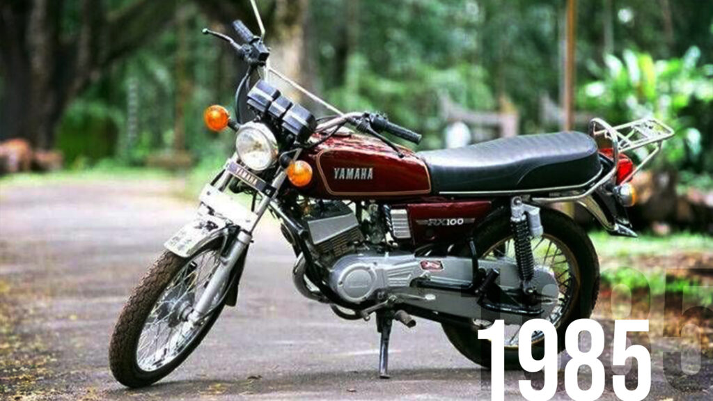 Even though it has a bad reputation, the Yamaha RX100 is very sought after in the second hand market.