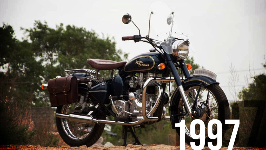 Driving a bullet gave the rider an aura of confidence and braggadocio, unlike any other bike.