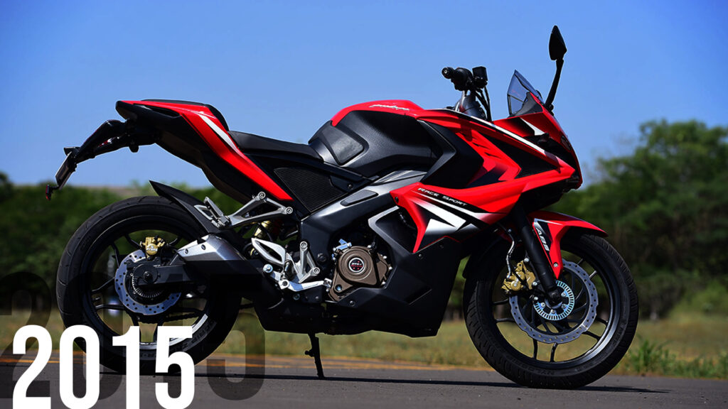 The Pulsar RS200, with it's superbike deisgn and performance, put India on the map with resepct to fast bikes.