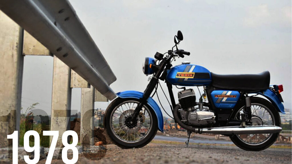 Yezdi really paved their way into the Indian Market with the Roadking.